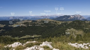 panorama dal Toraro