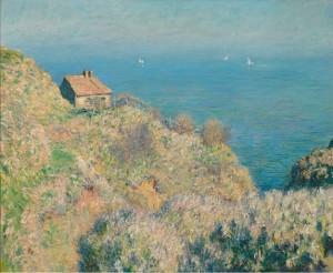 Monet - casa del pescatore a Varengeville