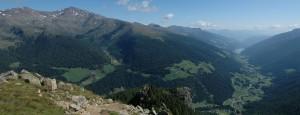 Val d'Ultimo da Monte Chiodo